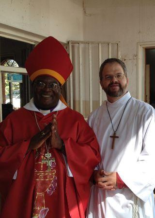 GarywithArchbishop